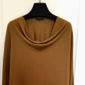 Asymmetrical Cowl Neck Sweater NWOT